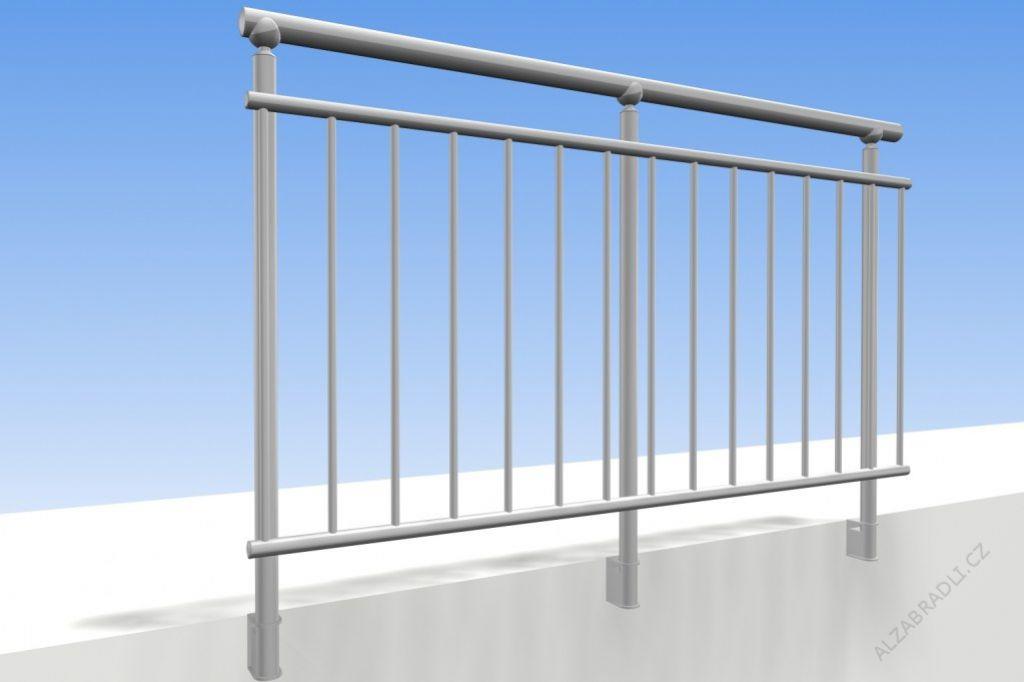 Geländer Für Terrassen Modell A2 - Gelanderkit.De
